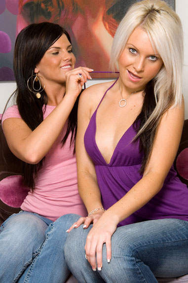 Barbie Anderson And Mackenzee Pierce From LesbianRoad.com
